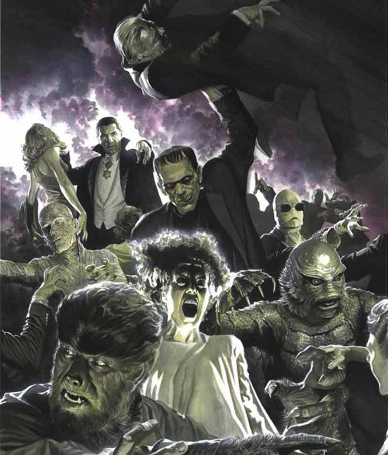 Monstruos clásicos RKO, por Alex Ross