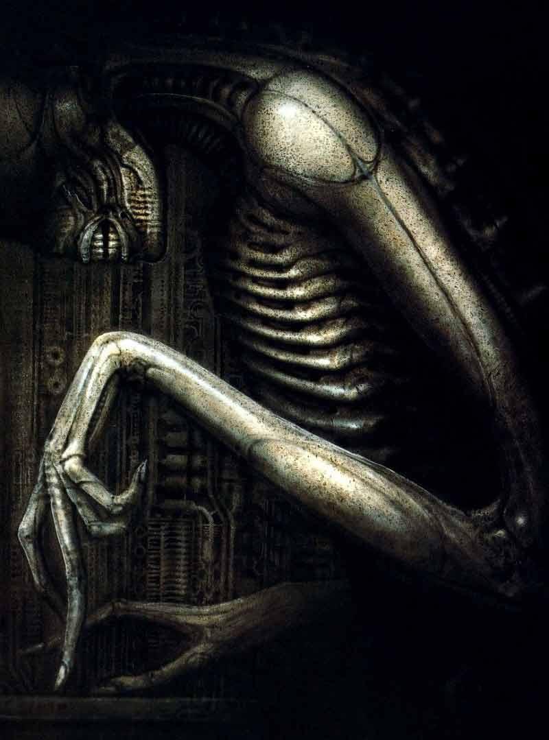 Hr. Giger diseño para Alien